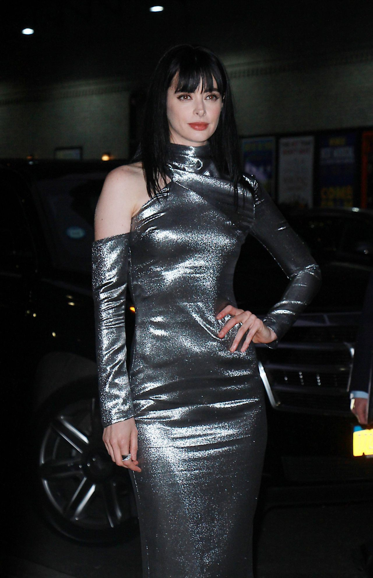 Krysten Ritter At The Late Show With Stephen Colbert Tv