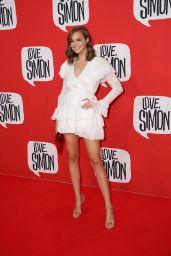 """Ksenija Lukich – """"Love Simon"""" Red Carpet in Sydney"""