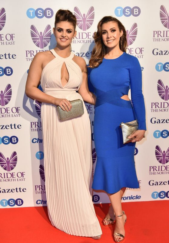 Kym Marsh and Emily Cunliffe – 2018 Pride Of The North East Awards in Newcastle