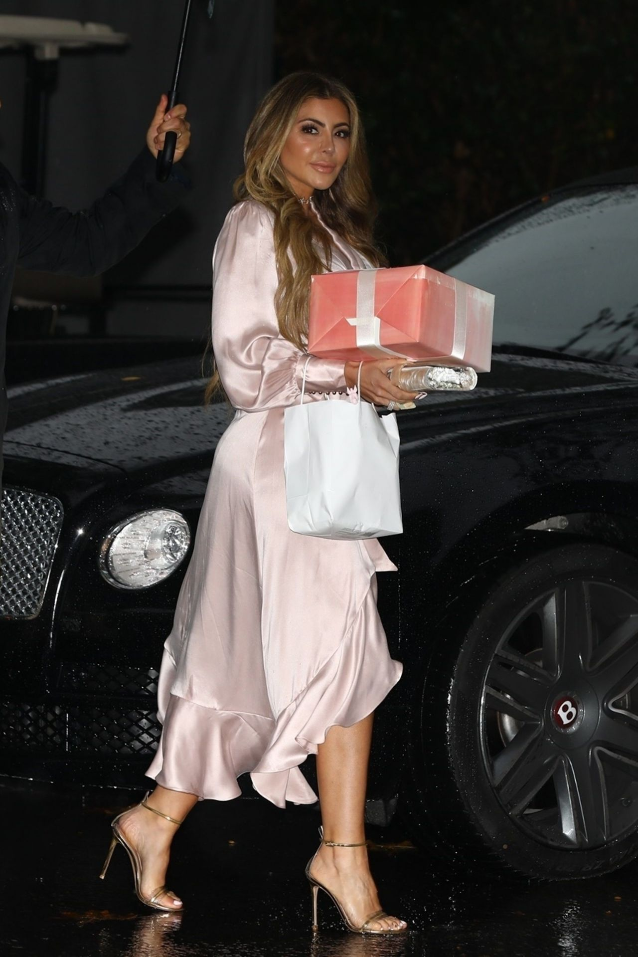 Larsa Pippen at Khloe Kardashian s Baby Shower at the Bel Air Hotel