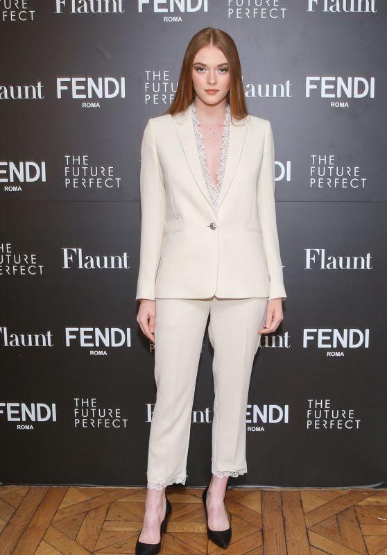 Larsen Thompson - Fendi X Flaunt Celebrate the New Fantasy Issue in LA 03/21/2018