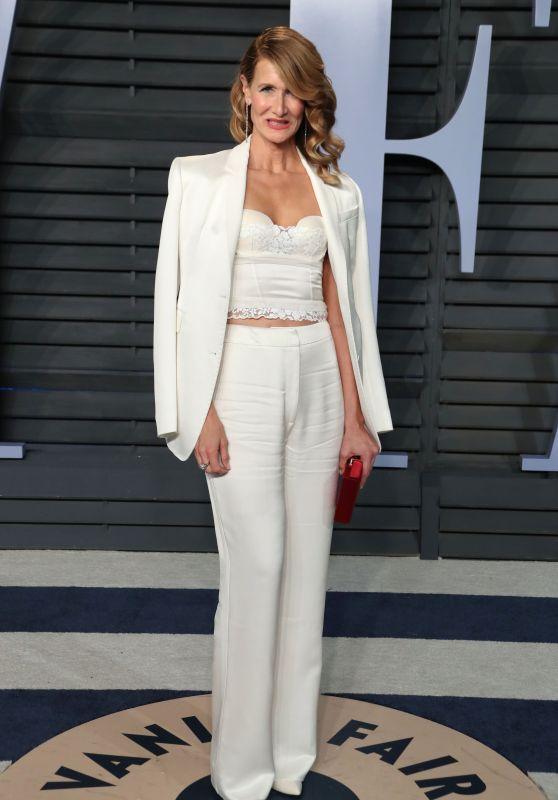 Laura Dern – 2018 Vanity Fair Oscar Party in Beverly Hills