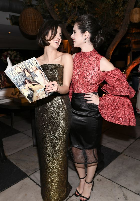 Laura Marano and Vanessa Marano - Vanity Fair and Lancome Paris Toast Women in Hollywood in West Hollywood