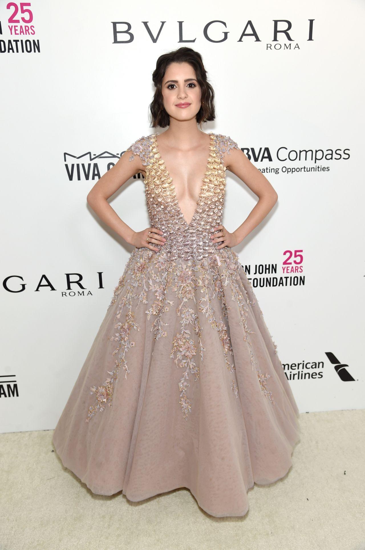 Laura Marano Elton John Aids Foundation S Oscar 2018