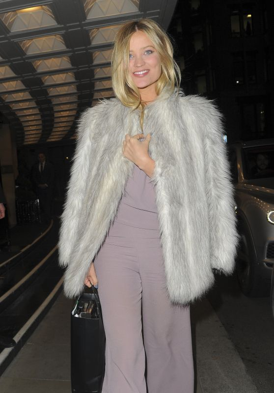 Laura Whitmore - The Dorchester in London 03/18/2018