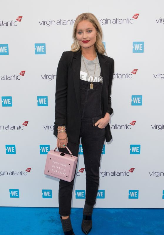 Laura Whitmore – WE Day in London 03/07/2018