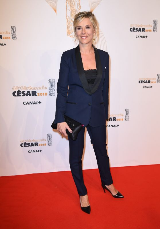Laurence Ferrari – Cesar Film Awards 2018 in Paris