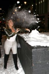 Lauryn Goodman - What We Wear x Axel Arigato Pop-Up Launch Party in London