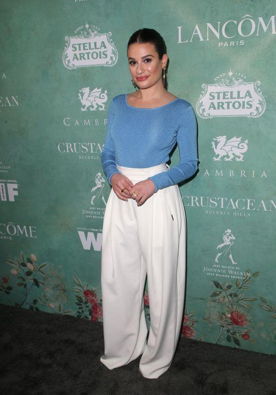 Lea Michele – 2018 Women in Film Pre-Oscar Cocktail Party in LA