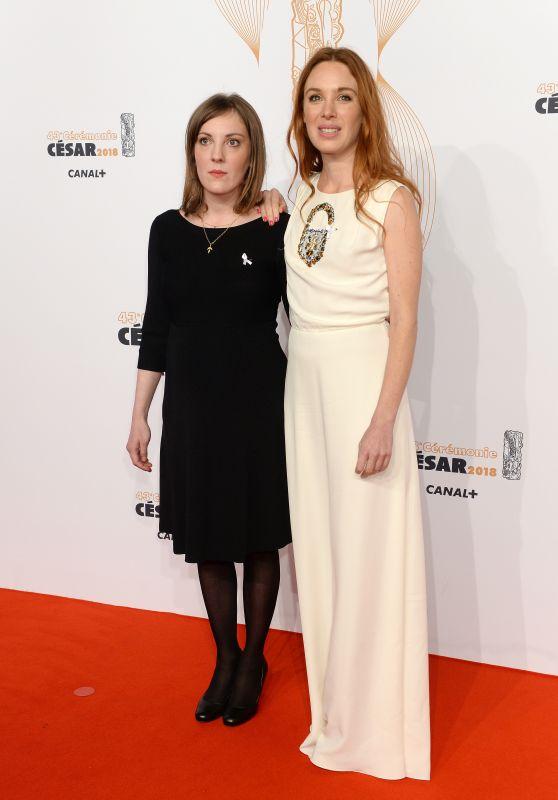 Leonor Seraille and Laetitia Dosch – Cesar Film Awards 2018 in Paris
