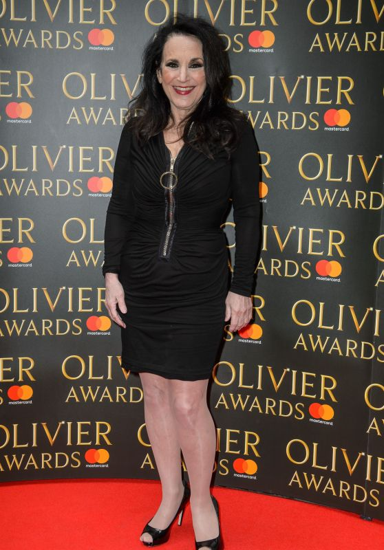 Lesley Joseph – Olivier Awards Nominees Luncheon in London 03/09/2018