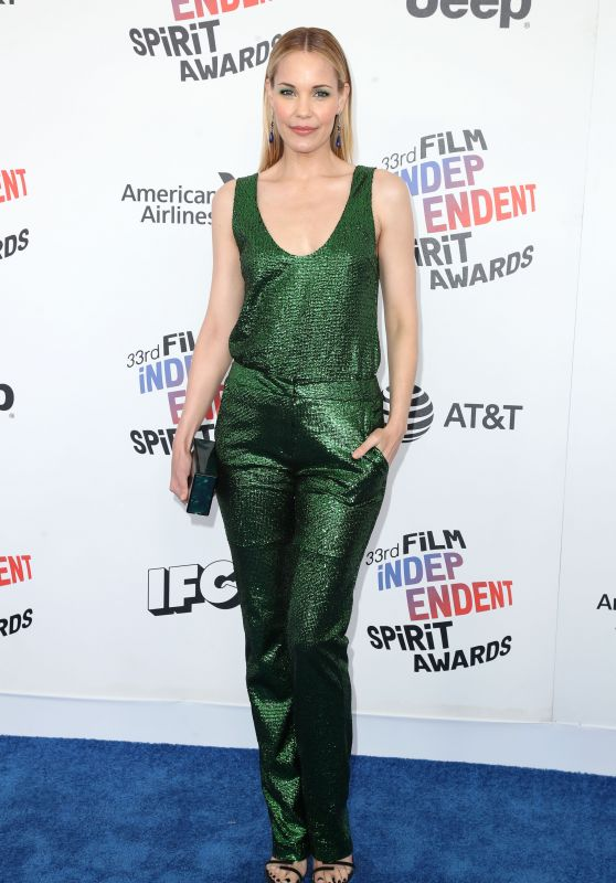 Leslie Bibb – 2018 Film Independent Spirit Awards in Santa Monica