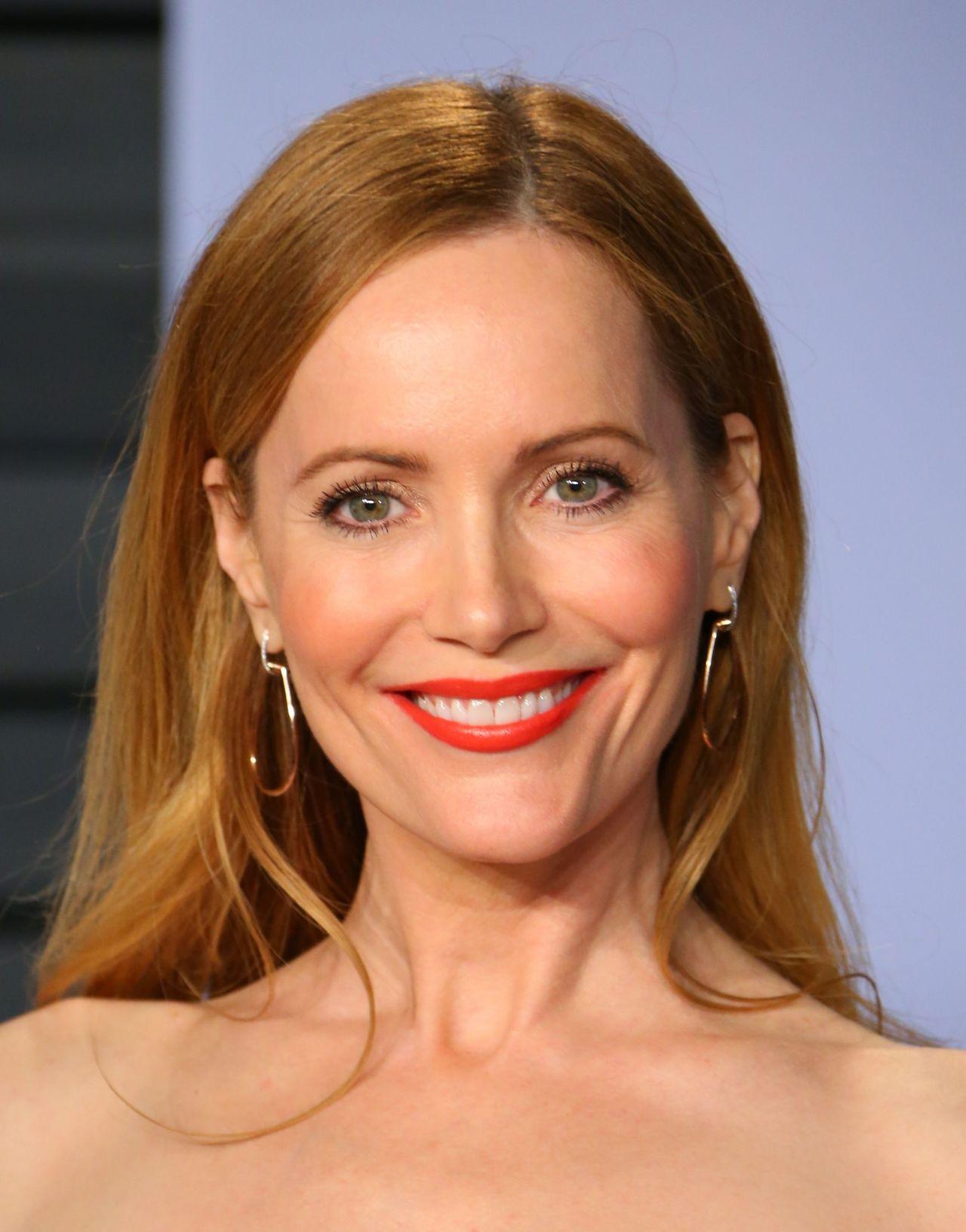 Leslie Mann 2018 Vanity Fair Oscar Party In Beverly Hills