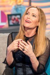 Leslie Mann Appeared on Lorraine TV Show in London 03/20/2018