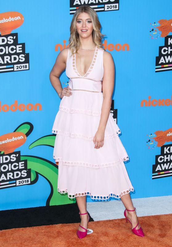 Lexi DiBenedetto – 2018 Nickelodeon Kids' Choice Awards