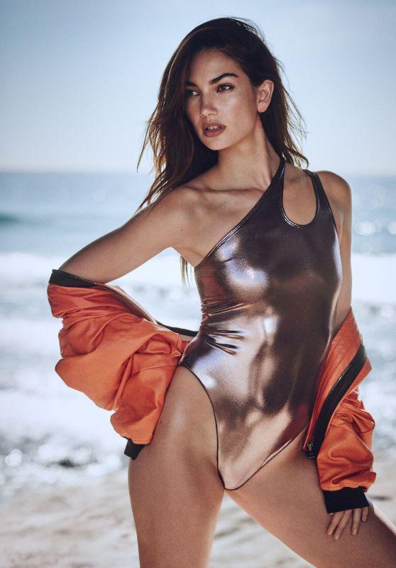 Lily Aldridge - Photoshoot for Elle April 2018