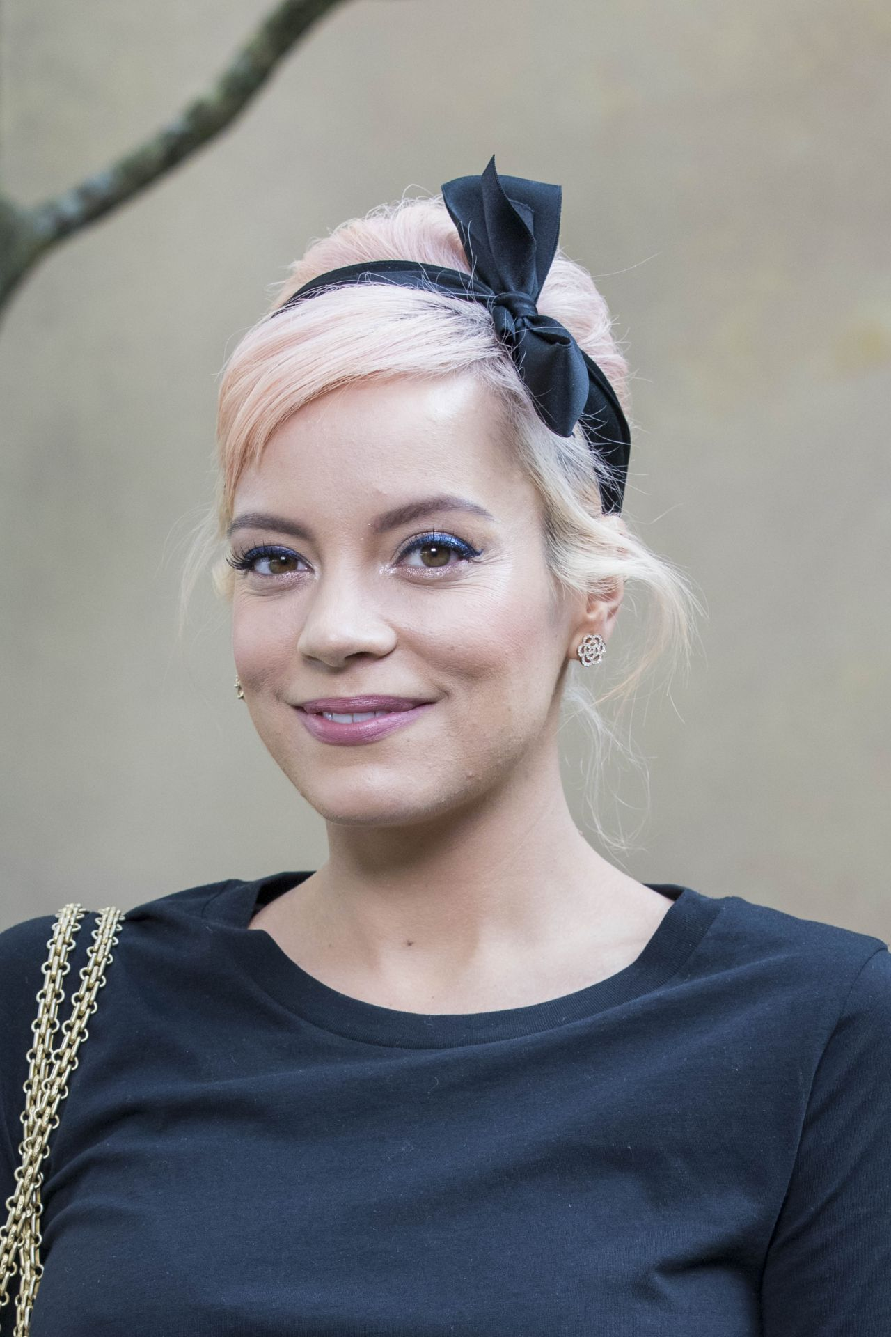 Lily Allen – Chanel Fashion Show FW18 in Paris Lily Allen
