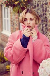 Lily James – Harper's Bazaar UK April 2018