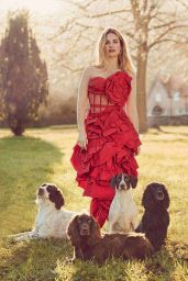 Lily James – Harper's Bazaar UK April 2018