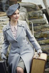 Lily James - The Guernsey Literary and Potato Peel Pie Society 2018