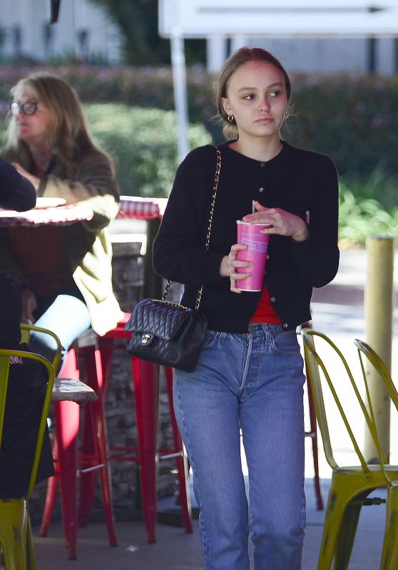 Lily-Rose Depp - Leaves Pinches Tacos in LA 03/18/2018