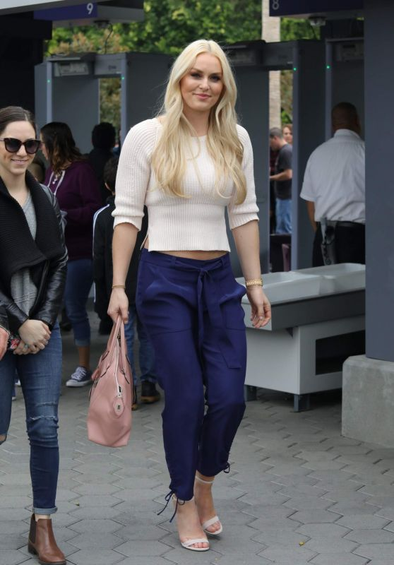 Lindsey Vonn - Extra Set in Universal City 03/07/2018