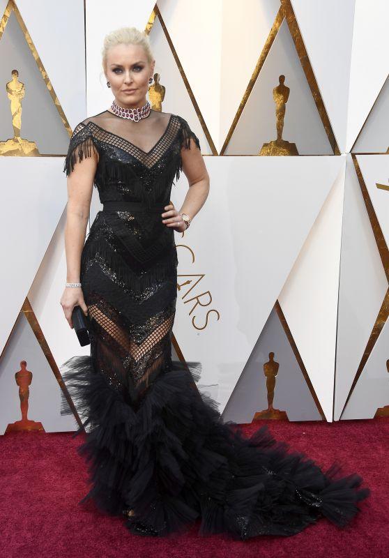 Lindsey Vonn – Oscars 2018 Red Carpet