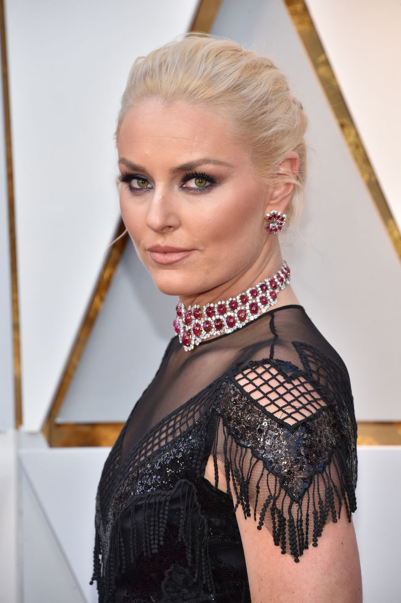 Lindsey Vonn Oscars 2018 Red Carpet