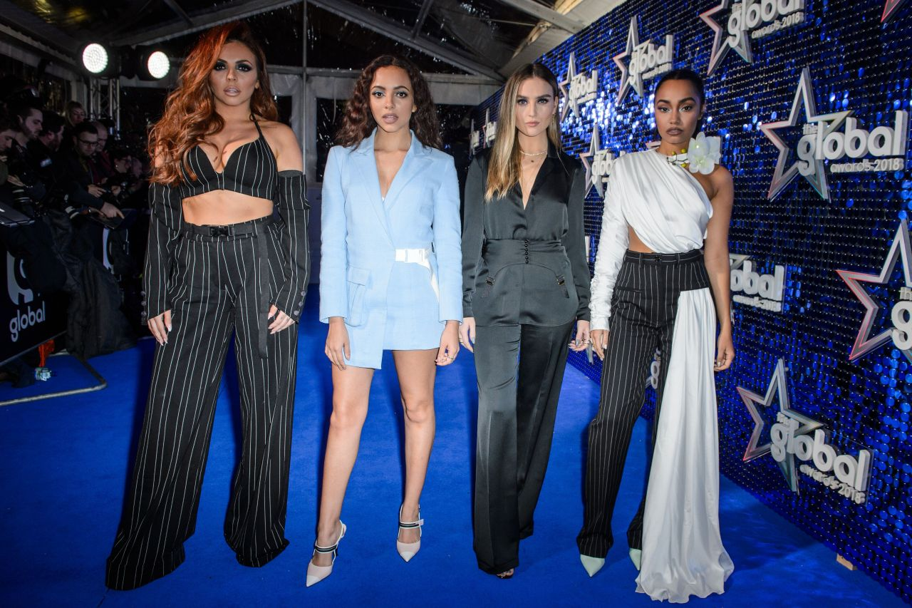 Little Mix The Global Awards 2018 In London