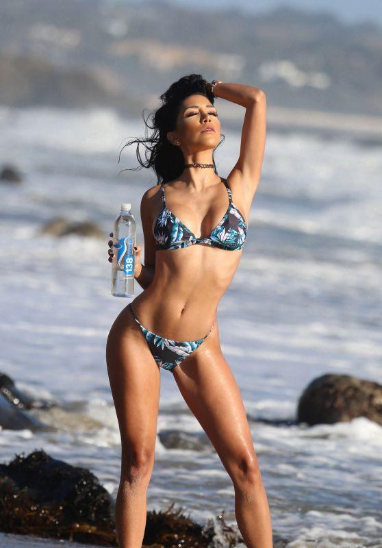 Lizzeth Acosta - Bikini Photoshoot for 138 Water in Laguna Beach