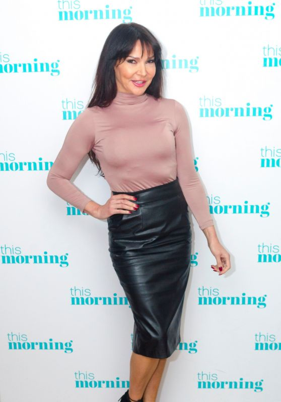 Lizzie Cundy at This Morning TV Show in London 03/28/2018