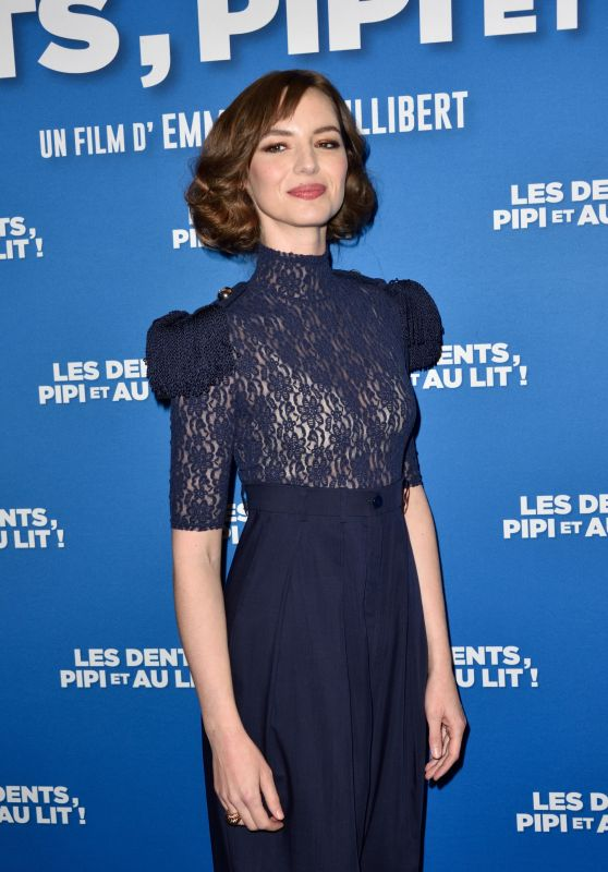 "Louise Bourgoin - ""Les Dents, Pipi Et Au Lit"" Premiere in Paris"