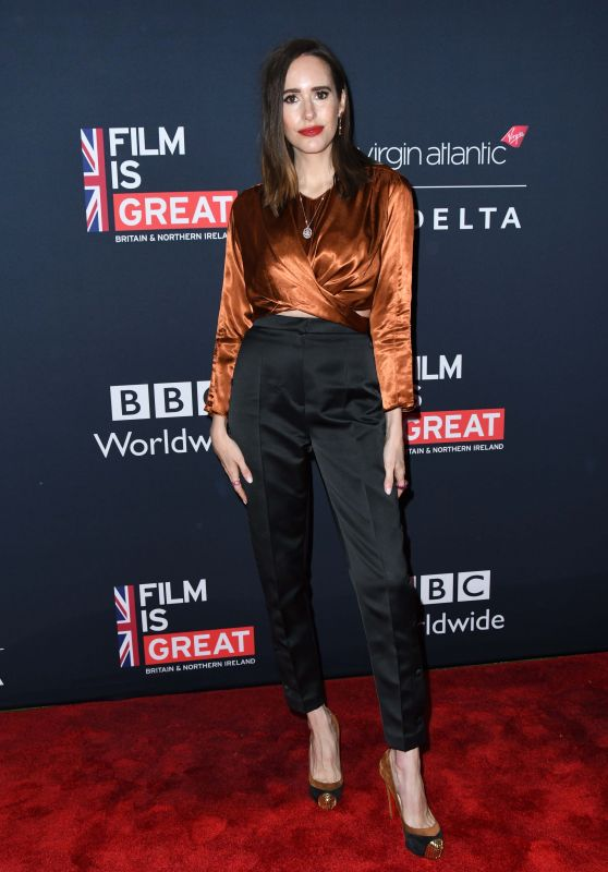 Louise Roe - Film is GREAT Reception to Honor British Oscar Nominee in LA 03/02/2018