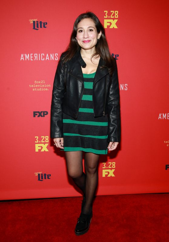"""Lucy Devito – """"The American's' TV Show Premiere in NY"""