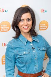 Lucy Verasamy - Good Morning Britain TV Show in London 03/28/2018