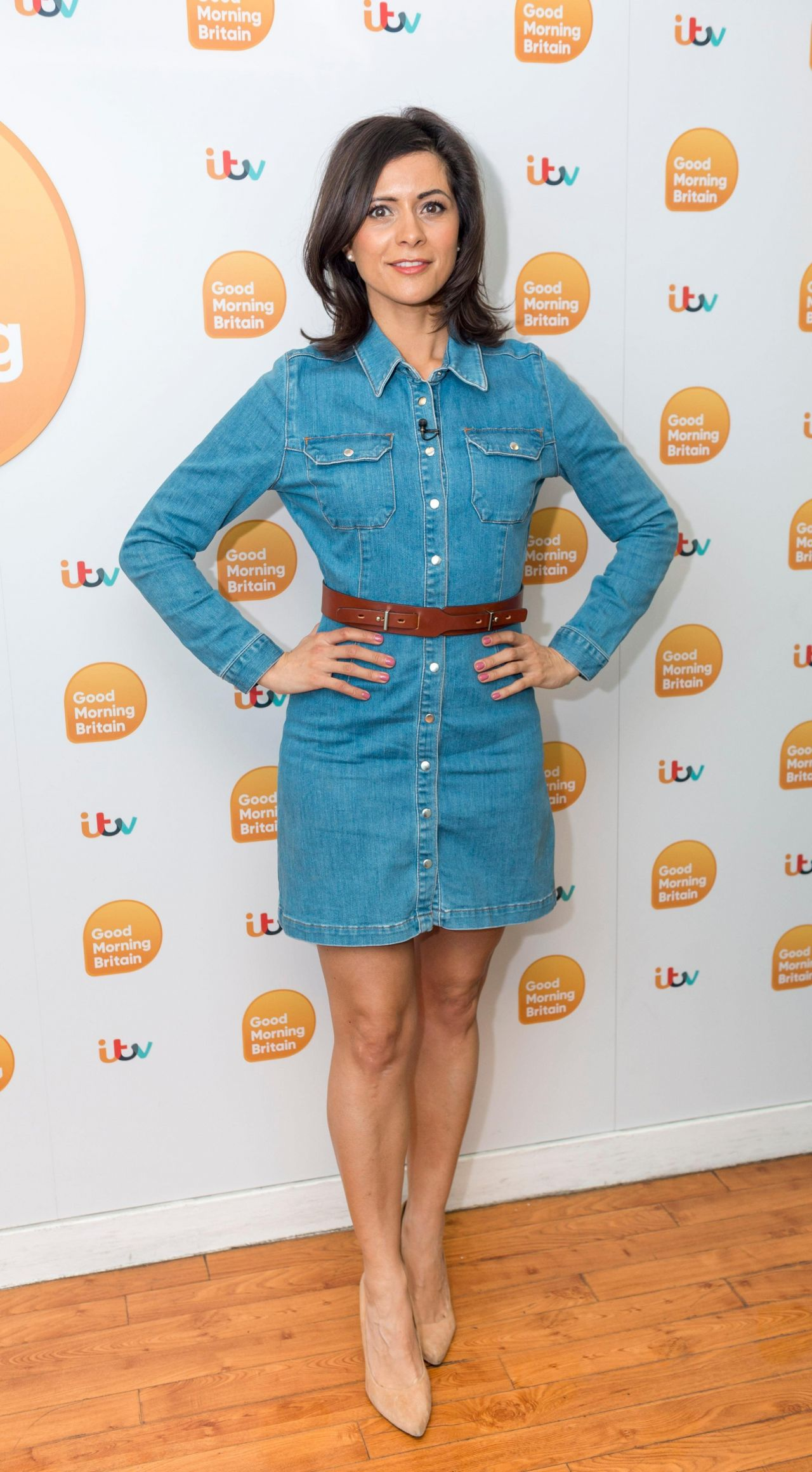 Lucy Verasamy - Good Morning Britain TV Show in London 03