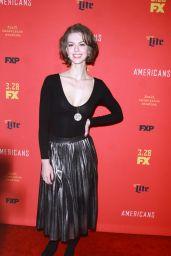 "Lyanka Gryu – ""The American's' TV Show Premiere in NY"