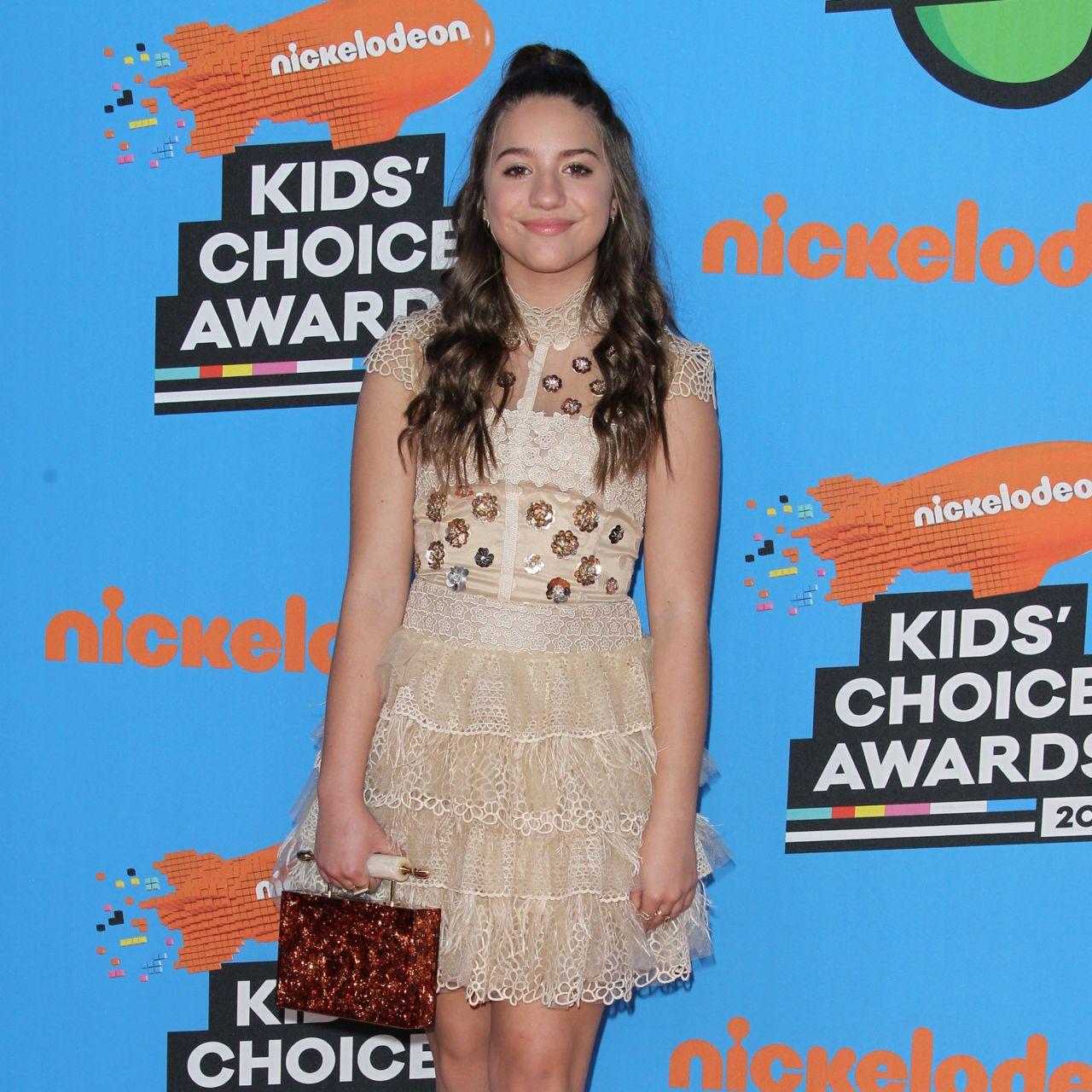 Mackenzie Ziegler 2018 Nickelodeon Kids Choice Awards