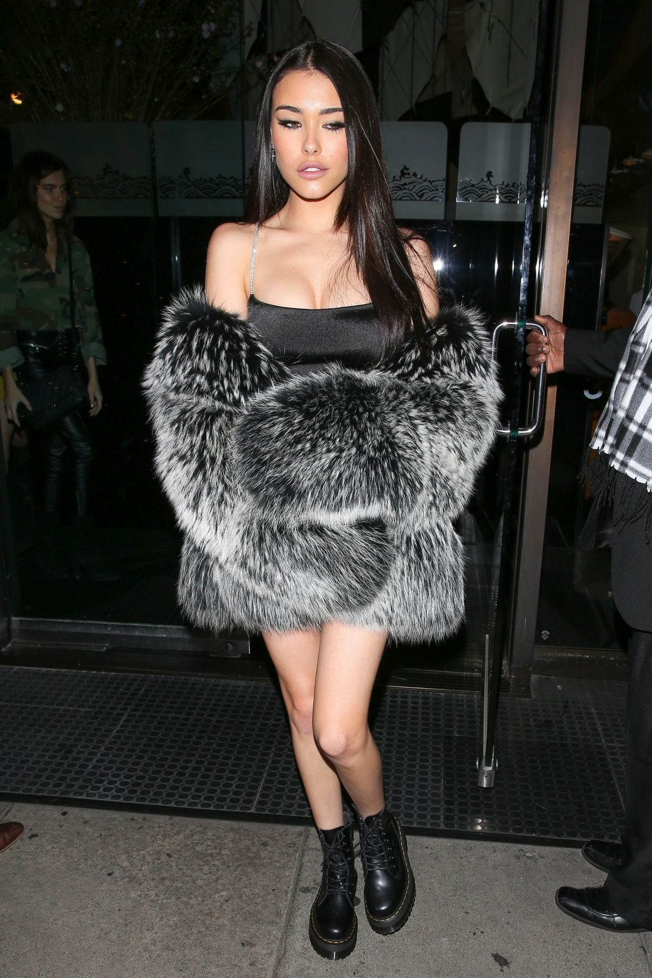 Madison Beer At Her Birthday Dinner At Mr Chow In Beverly