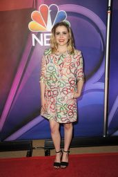 Mae Whitman - NBC Mid-Season Press Day in New York 03/08/2018