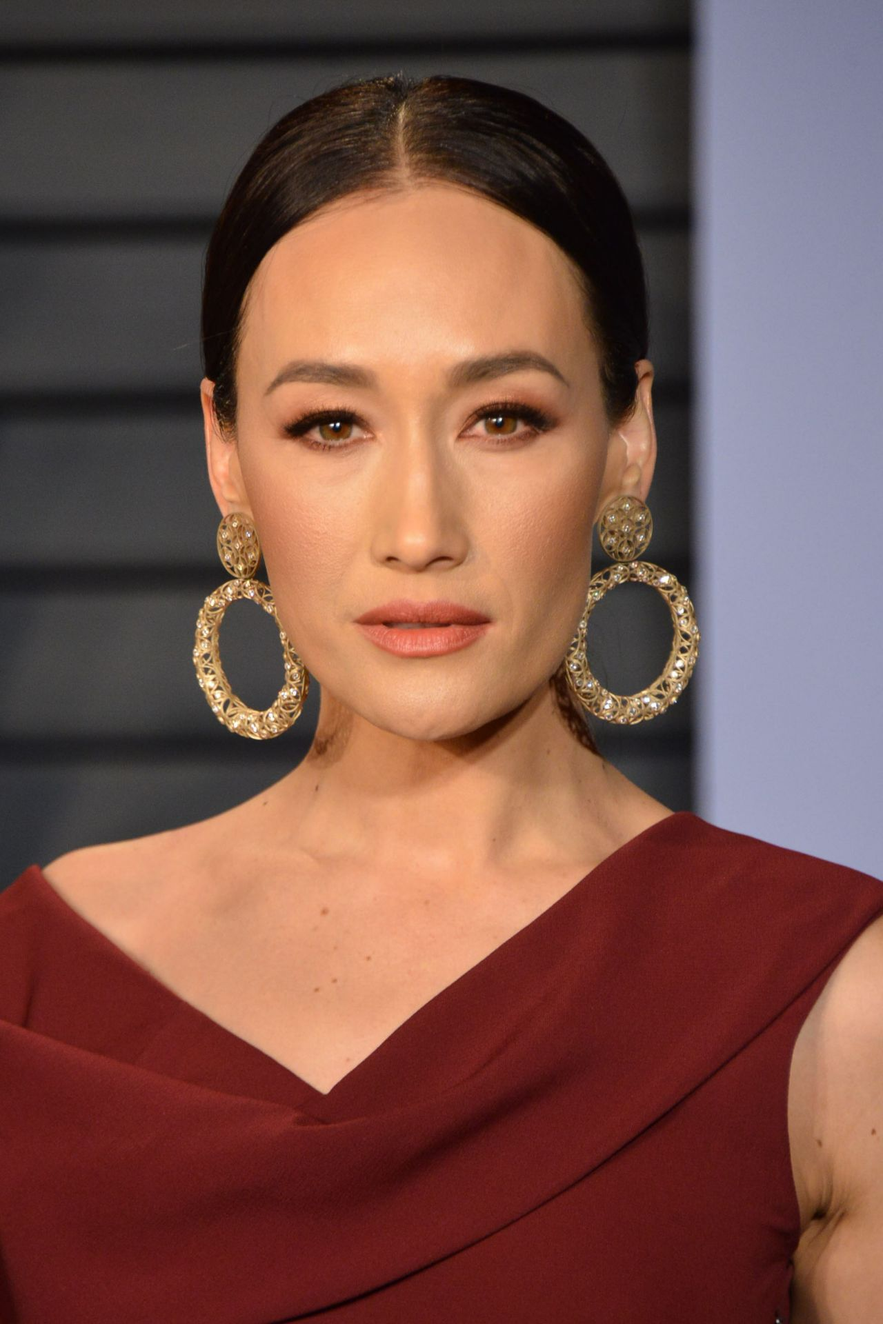 Maggie Q 2018 Vanity Fair Oscar Party In Beverly Hills