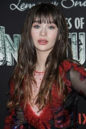 "Malina Weissman - ""A Series of Unfortunate Events"" TV Show Premiere in NYC"