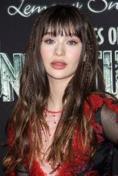 """Malina Weissman - """"A Series of Unfortunate Events"""" TV Show Premiere in NYC"""