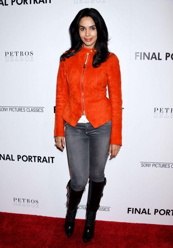 """Mallika Sherawat - """"Final Portrait"""" Screening in LA"""