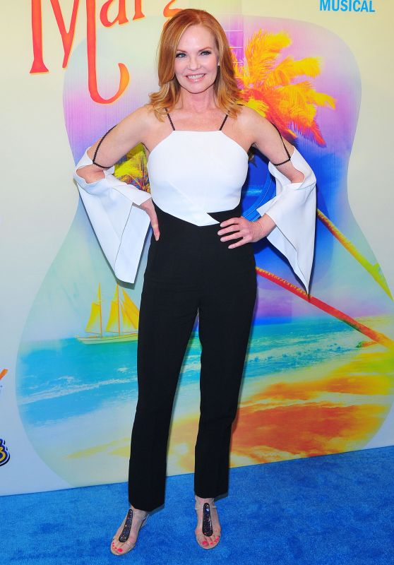 "Marg Helgenberger - ""Escape to Margaritaville"" Opening Night in New York 03/15/2018"