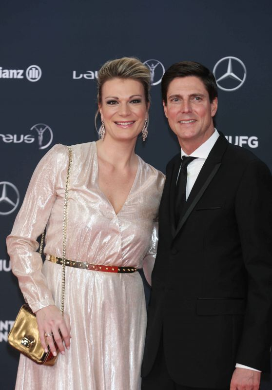 Maria Höfl-Riesch – Laureus World Sports Awards in Monte Carlo 02/27/2018