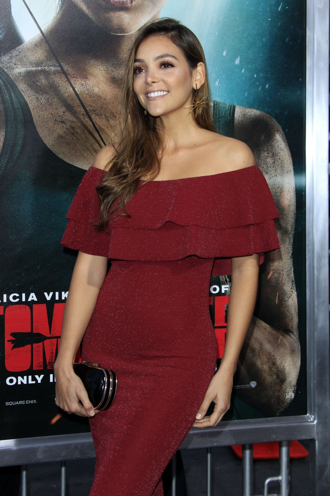 Maria Laura Quintero Tomb Raider Premiere In Hollywood