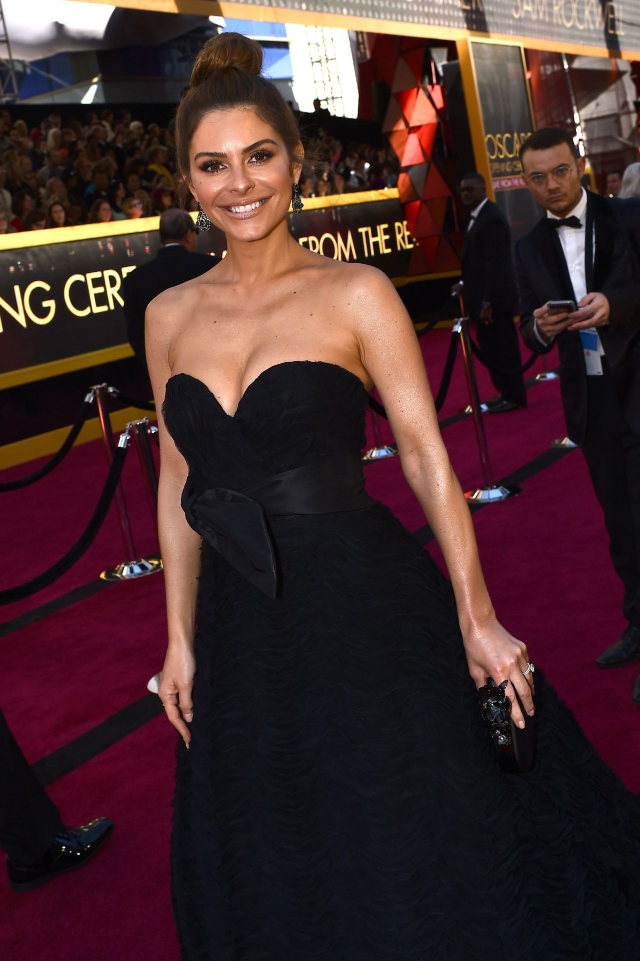 Maria Menounos – Oscars 2018 Red Carpet