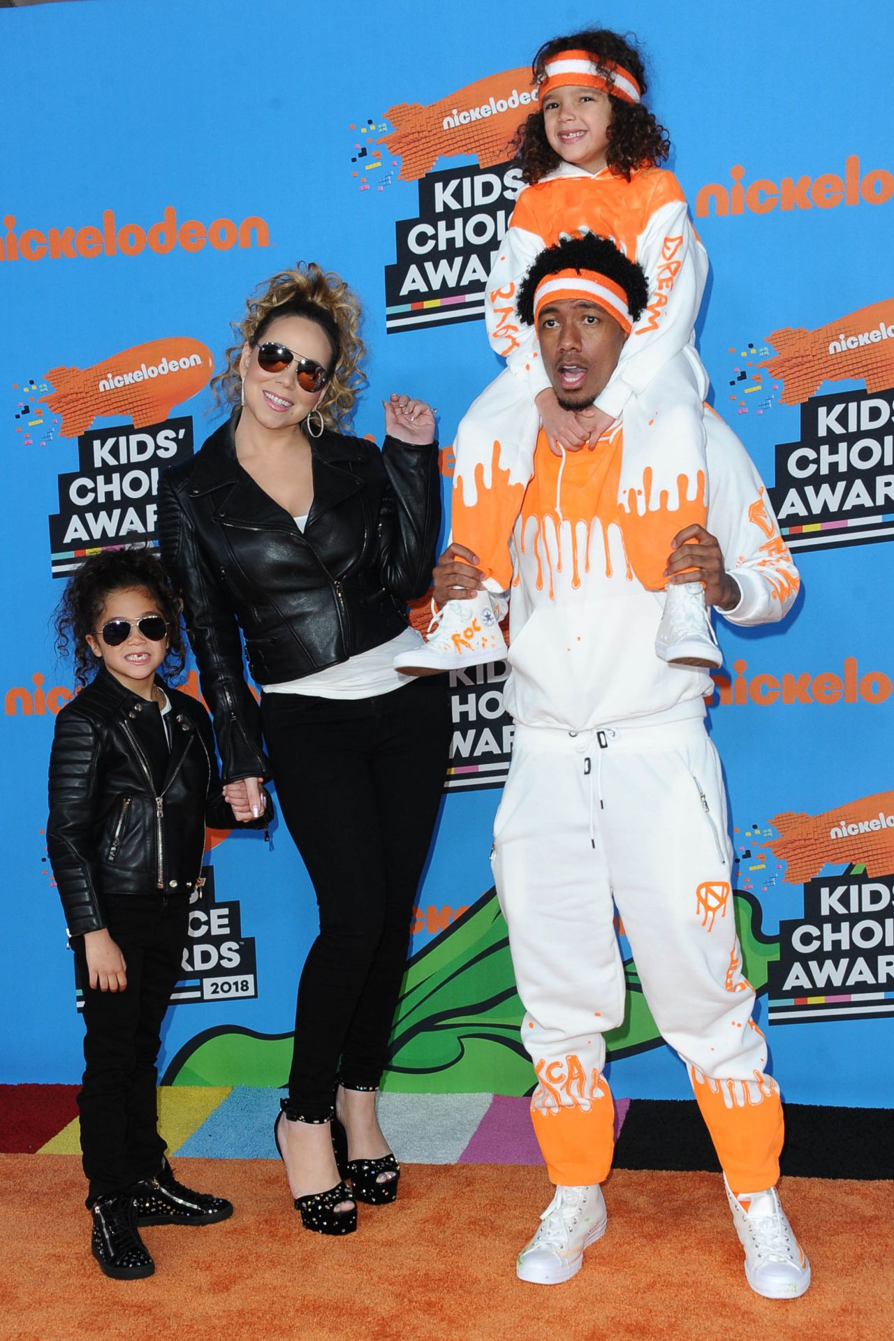 Mariah Carey 2018 Nickelodeon Kids Choice Awards