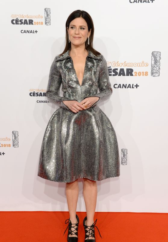 Marina Fois – Cesar Film Awards 2018 in Paris